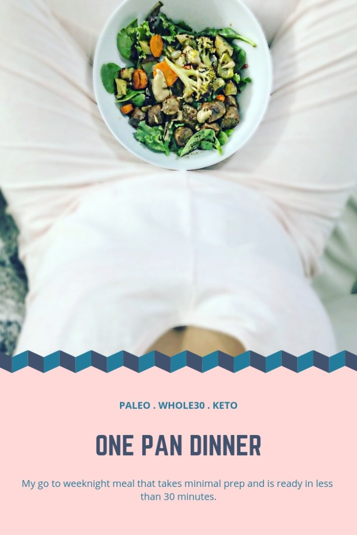 Easy Weeknight Sheet-pan Dinner
