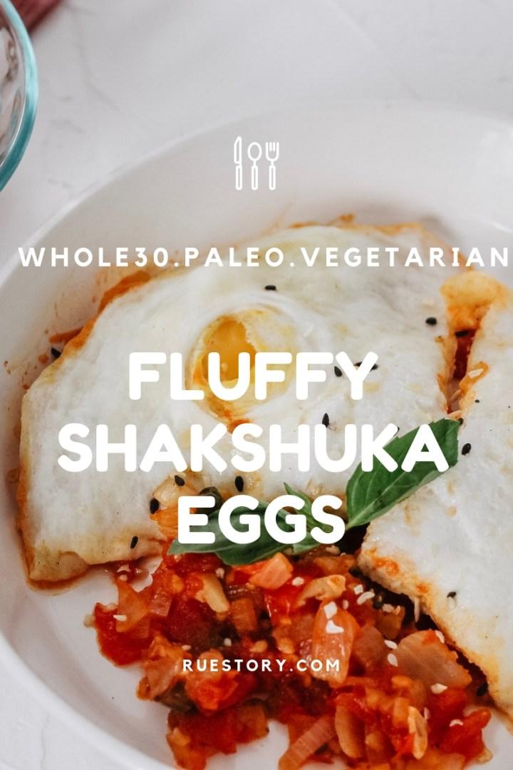 Fluffy Shakshuka Eggs