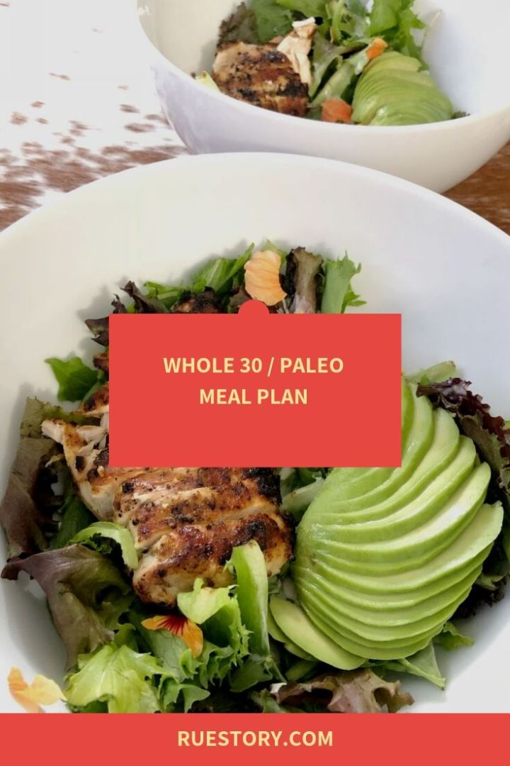 Whole30 Week 4 Meal Plan