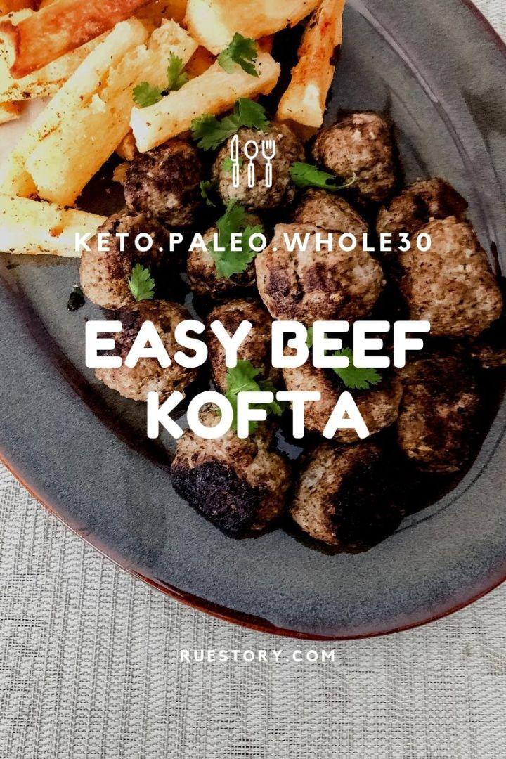 Easy Beef Kofta (Meatballs)