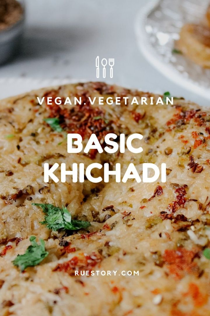 Basic Khichadi