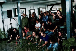 Deantoni Parks @ Mooi Collective - photo by Rodrigo Zamora