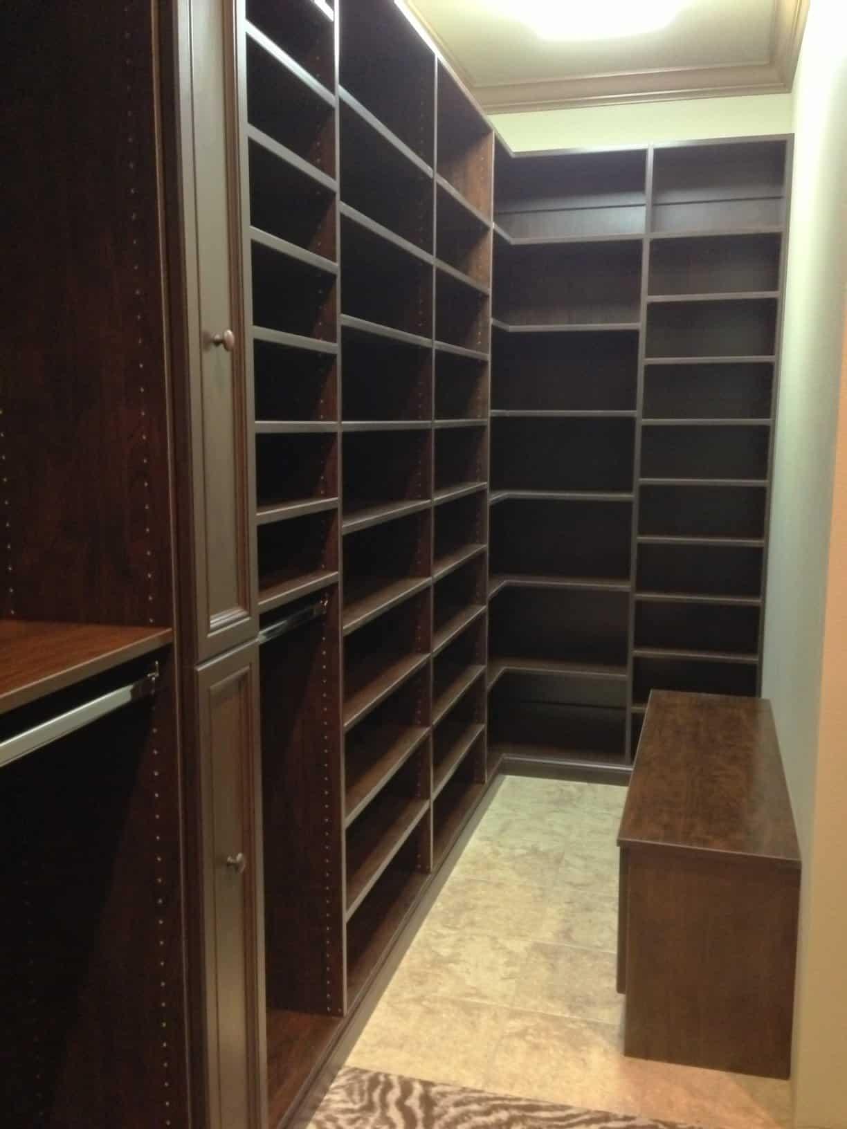 Master Closets  Ruffino Custom Closets