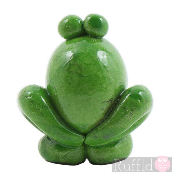Ceramic Individually Designed Frog