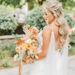Free Spirited Glam Wedding In Greenville With Warm Tones Ruffled