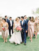 Bright Wedding in Arizona Complete with a Surprise Rainbow