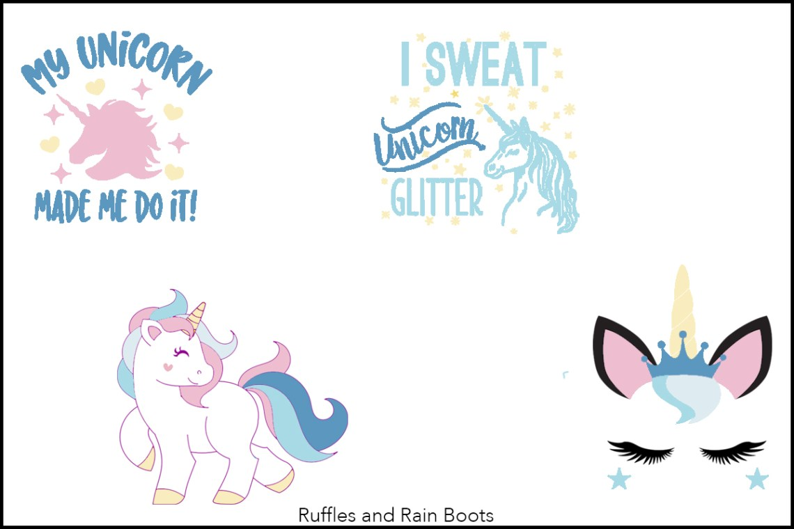 Download The Best Free Unicorn SVG and Graphics