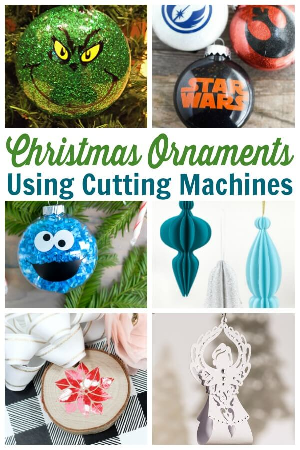 Cricut Christmas Ornament Projects Holiday Fun