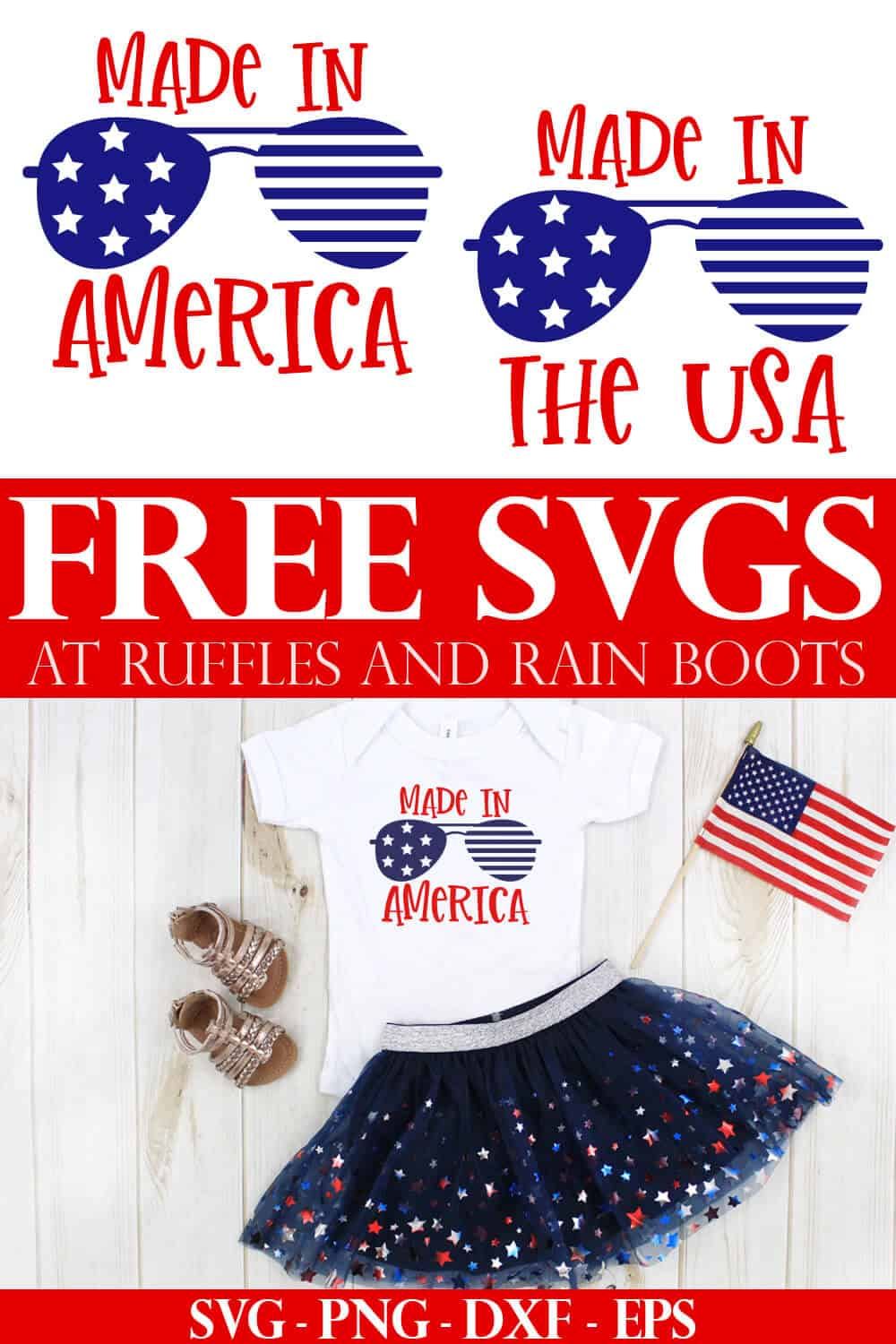 4th Of July Svg Free : Files, Independence, Cricut, Silhouette, Crafts