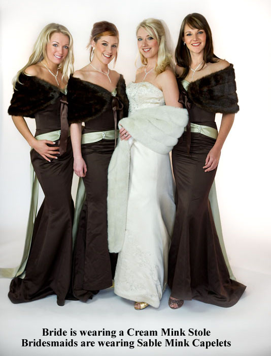 Winter Wedding Fur Idea