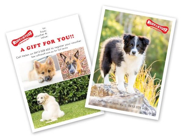Ruff 'n' Stuff Pet Photography Gift Voucher