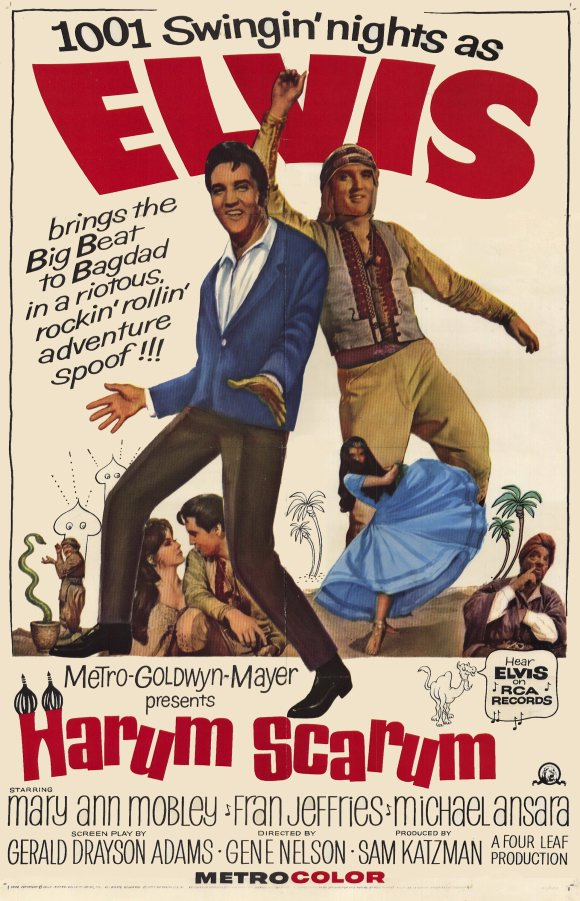 The Rufus Project Redeeming Features Cast: Harum Scarum (1965)