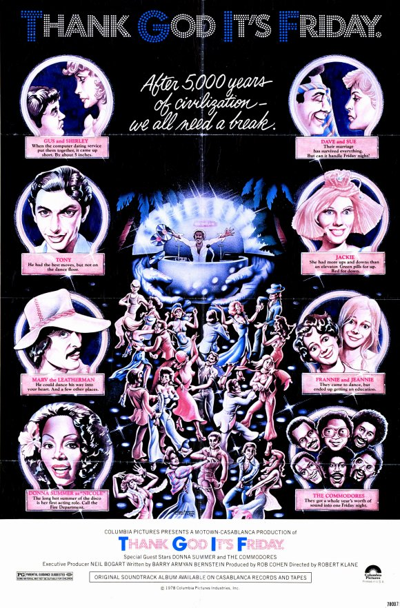 The Rufus Project Redeeming Features Cast: Thank God It's Friday (1978)