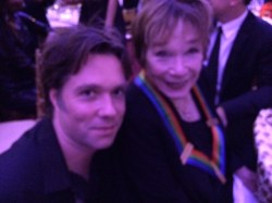 Rufus and Shirley MacLaine