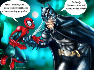 The Spider and The Bat Final