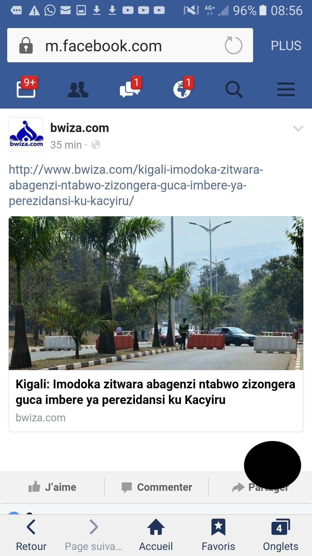 Nyuma yo gufunga imihanda yo mu Kiyovu kubera ubwoba Kagame yafunze umuhanda wa Kakiru