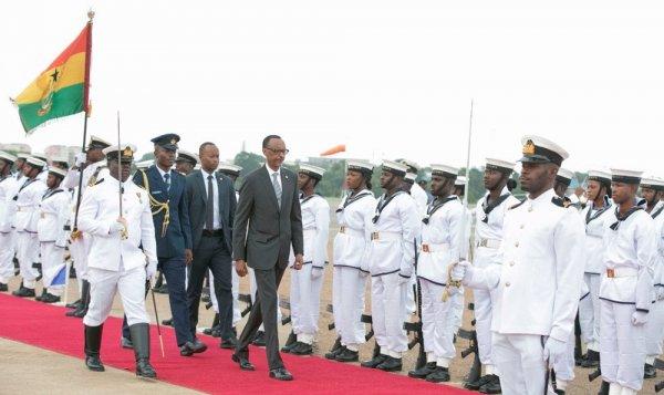 Perezida Kagame yitabiriye Inama ku Mpinduka ziganisha ku Iterambere rya Afurika muri Ghana