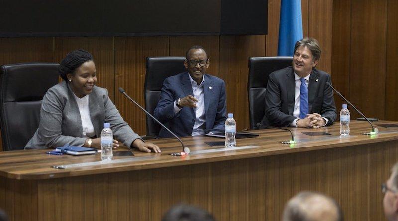 Kagame ngo ntagihangayikishijwe n'ejo hazaza h'u Rwanda!