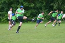 Hagen beim Kickoff