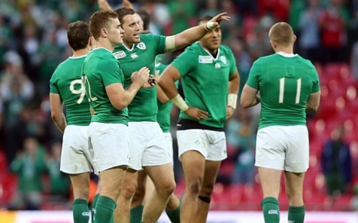 Ireland v Romania, IRB Rugby World Cup Pool D, Rugby Union International, Wembley Stadium, London - 27 Sep 2015