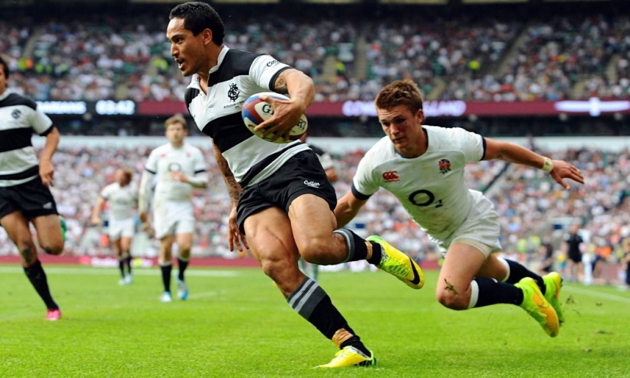 England XV v Barbarians, Rugby Union, Twickenham, London, Britain - 01 June 2014