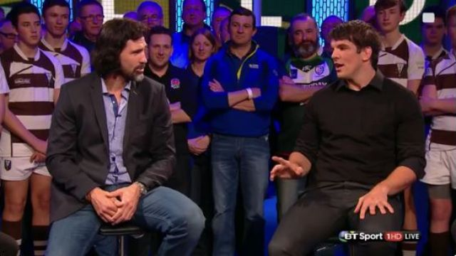 Donncha O Callaghan Explains To Victor Matfield How Paul O'Connell Got The Better Of Him