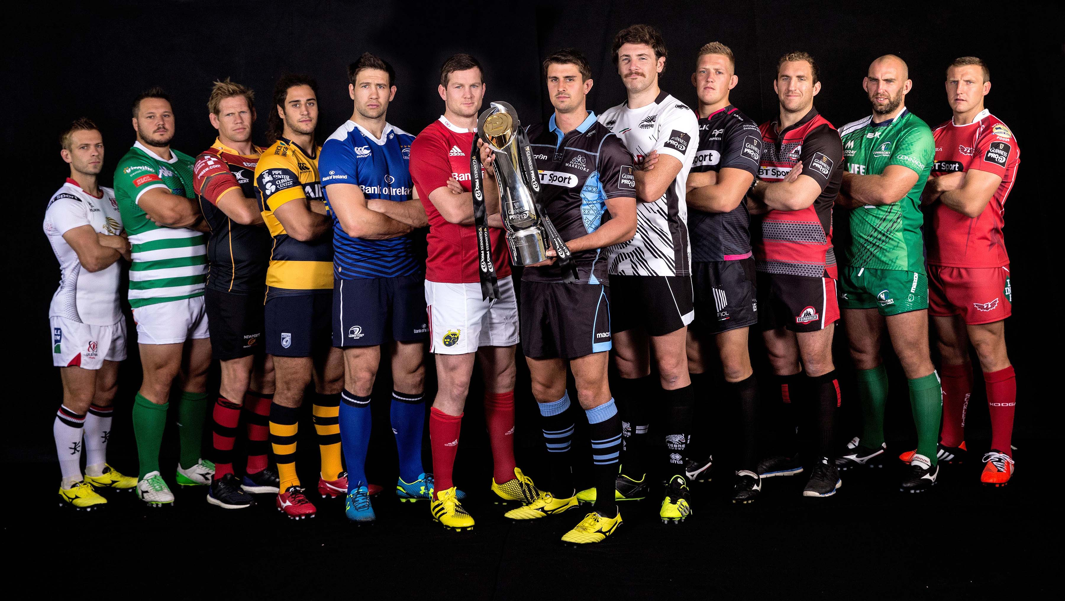 Launch of the 2015/16 Guinness PRO12 Season 24/8/2015