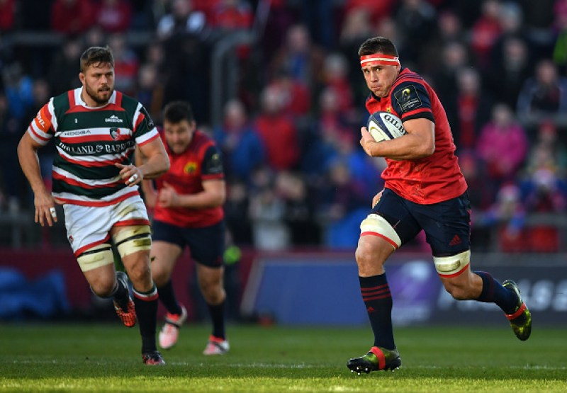 Munster v Leicester Tigers - European Rugby Champions Cup Pool 1 Round 3