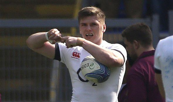 Here's Why Owen Farrell Makes This Symbol When He Celebrates