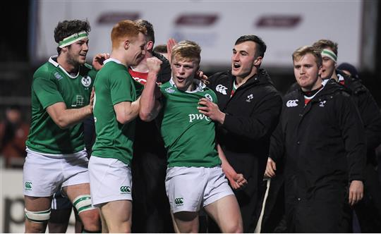 Watch: Unbelievable Try-Saving Tackle From Ireland U20s Star