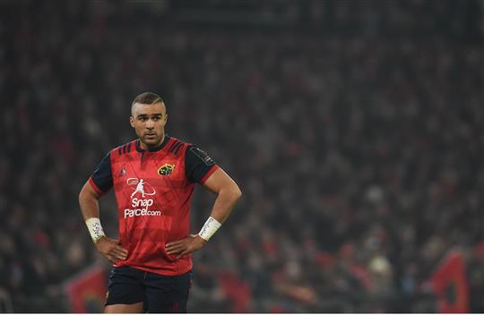 Simon Zebo Reveals He Won't Finish His Career With Munster
