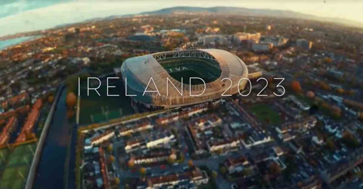 Watch: Ireland Release Spine-Tingling New Rugby World Cup 2023 Promo