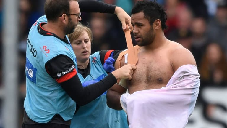 The Horrifying Extent Of Billy Vunipola's Shoulder Injury Revealed