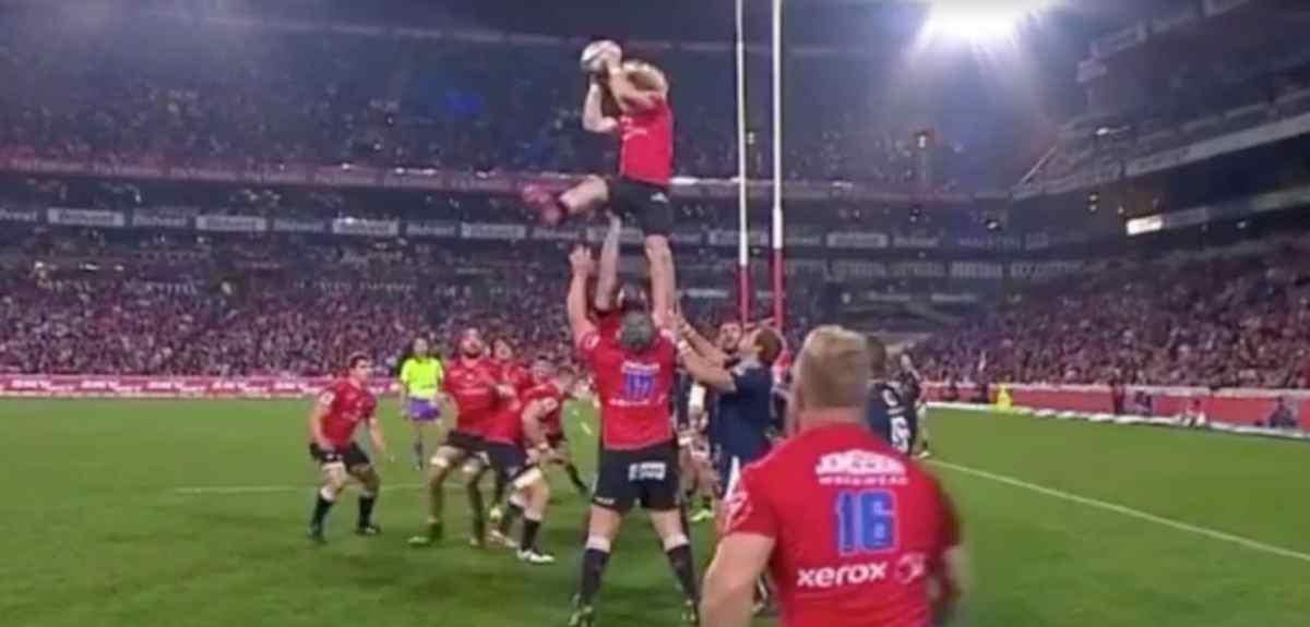Watch: This Is What Happens When You Put A Scrumhalf In A Lineout