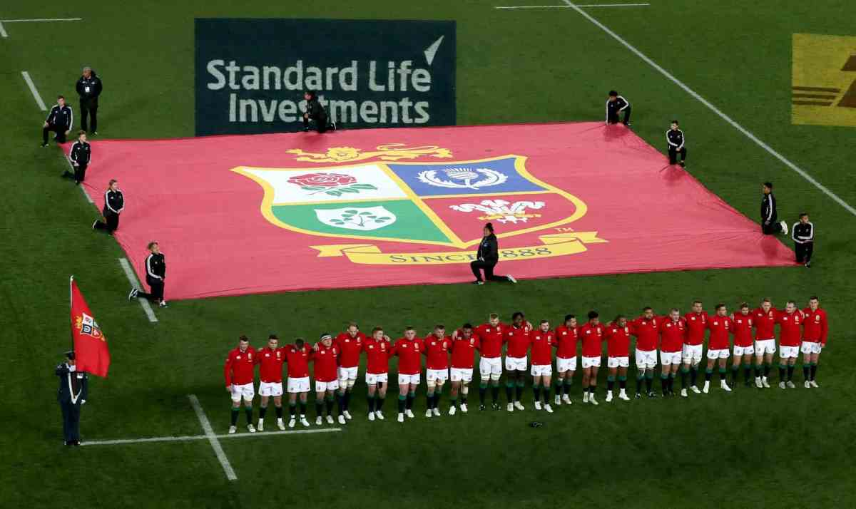 Lions Team Named For 2nd Test With The All Blacks