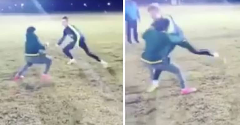 Watch: Young Rugby Player Brilliantly Responds To Being Bumped-Off