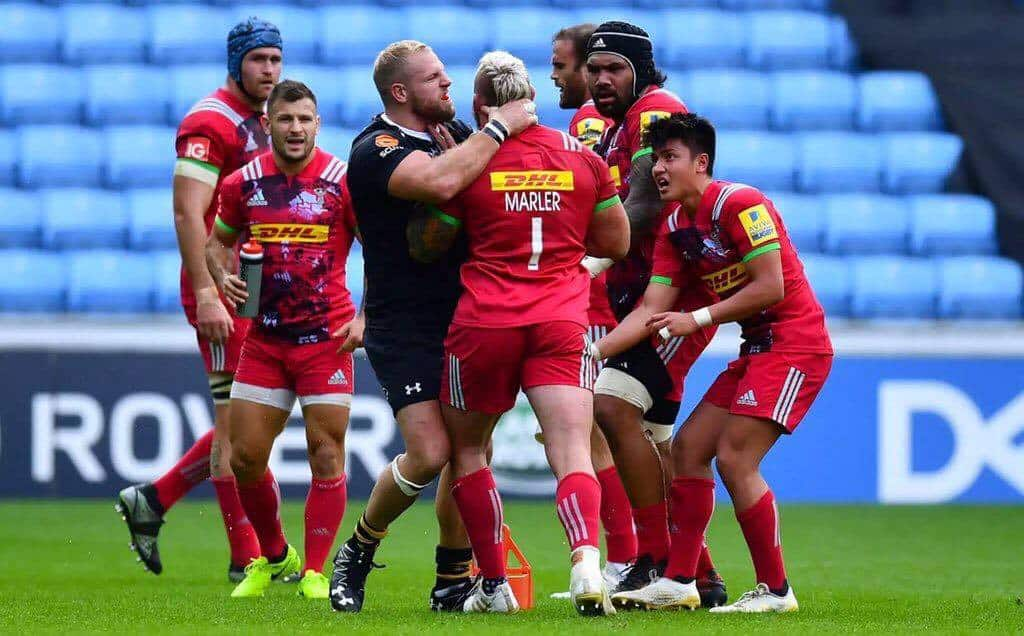 Joe Marler Punished For Incident With James Haskell