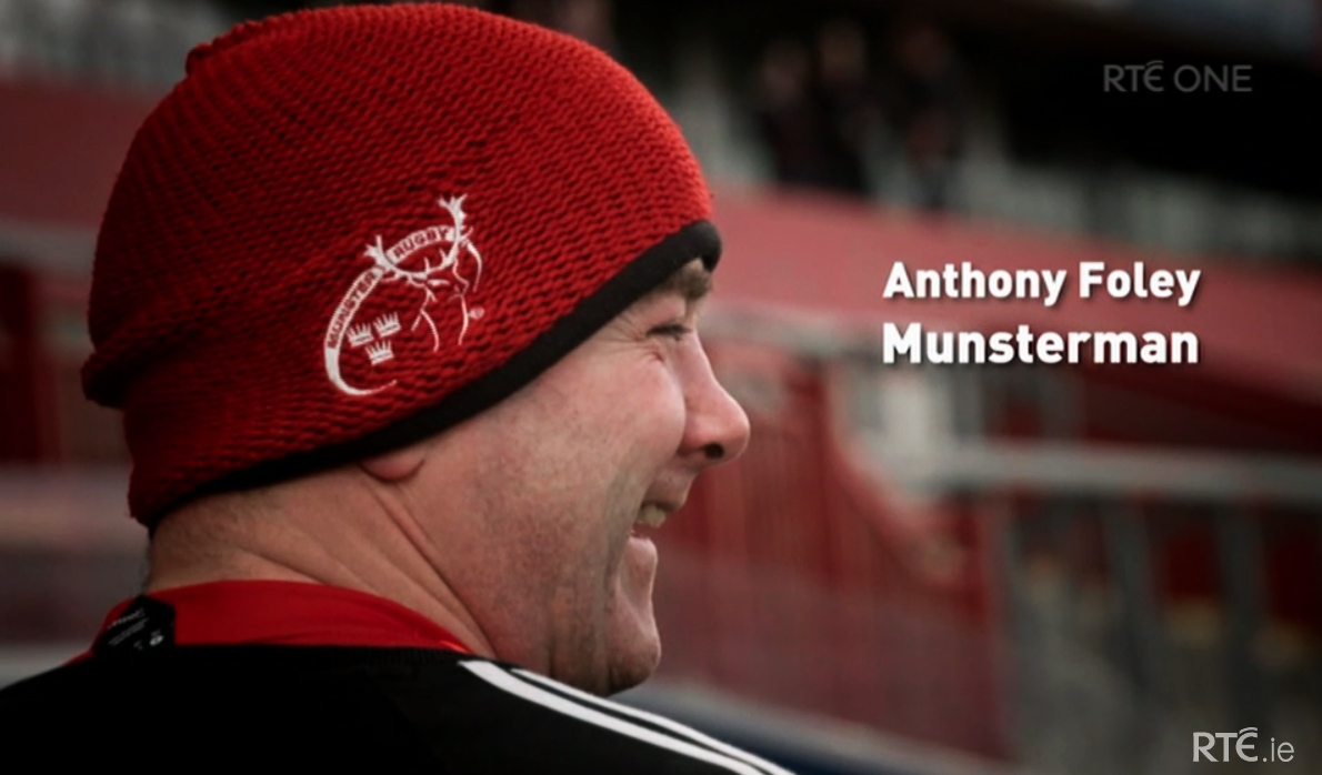 RTE To Re-Show Anthony Foley Documentary After Many Miss Out Over Storm Ophelia