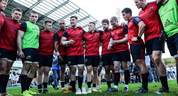 BREAKING: Munster Team Named For Racing 92 Clash