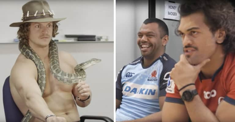 Watch: The Honey Badger Appointed Brisbane 10s Party Planner In Hilarious Video