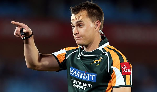 World Rugby remove Van der Westhuizen from Grand Slam game