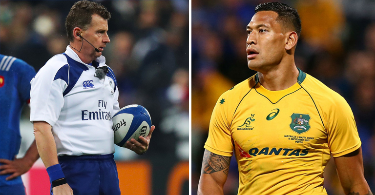 Ref Owens declares Folau offside for comments on gay people