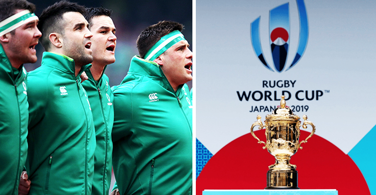 Ireland's Rugby World Cup 2019 Pool Has Finally Been Confirmed