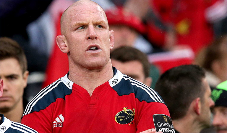 Paul O'Connell Responds To Rumours Linking Him With A Return To Munster
