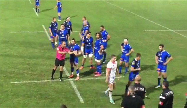 Chris Ashton Red-Carded For Punching Opponent In Pre-Season Friendly
