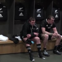 A Look Inside The All Blacks Dressing Room Shows How Hard Ireland Defeat Hit Them