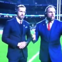WATCH: Looks Like James Haskell Might Have Got Pissed Drunk While On Punditry For Sky