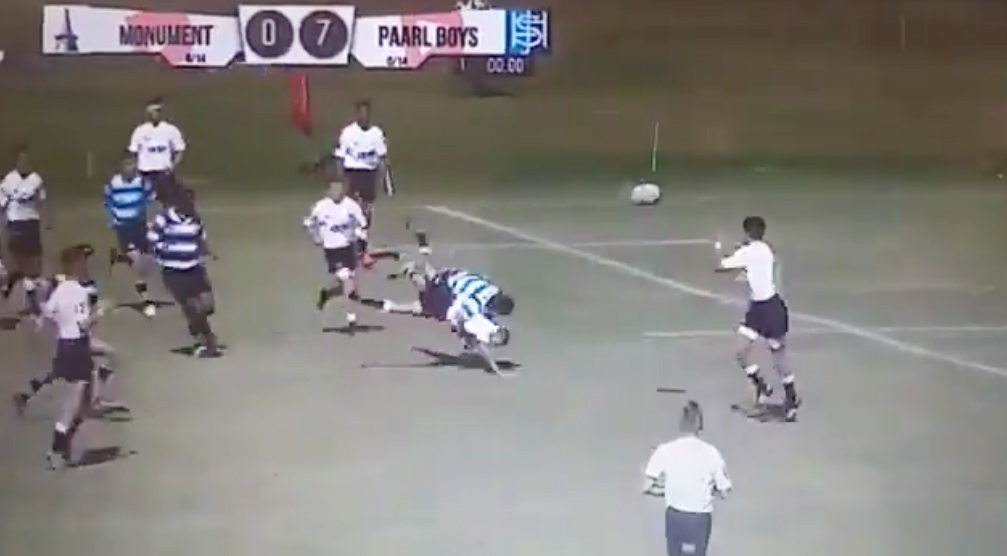 WATCH: This Might Just Be The Most Brutal Hit We've Ever Seen On A Rugby Pitch