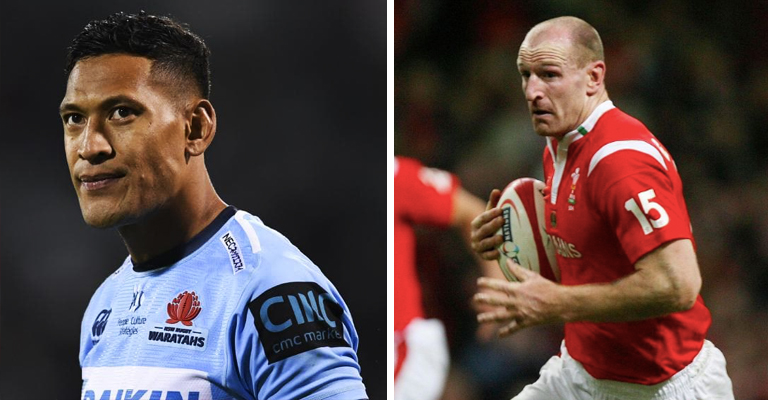 Gareth Thomas Tweets Emotional & Fitting Response To Israel Folau's Sacking