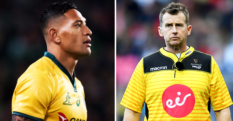 Referee Nigel Owens Has His Say On The Sacking Of Israel Folau